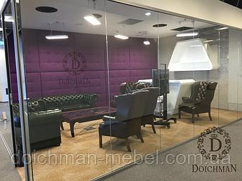 Мягкие стеновые панели для коворкинга, комнаты переговоров