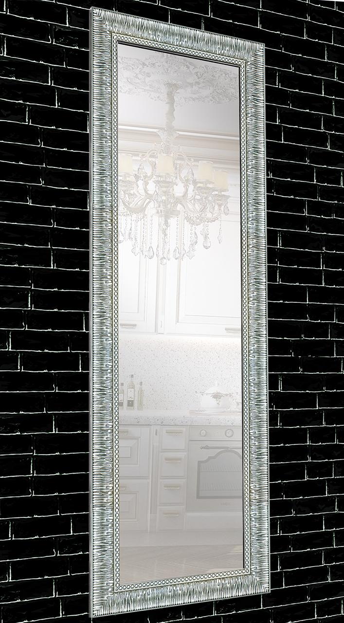 Зеркало настенное в раме Factura Grace Silver 60х174 см серебристое, фото 1
