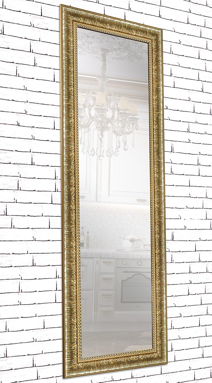 Зеркало настенное в раме Factura Grace golden 60х174 см золото, фото 1