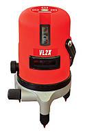 Лазерный нивелир на 2 плоскости VL2X, Vorhut (34-202)