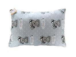Подушка детская с шариковым силиконом, бязь, хлопок 100% (50х70 см) 152235