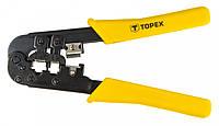 Клещи TOPEX для обжима 32D408