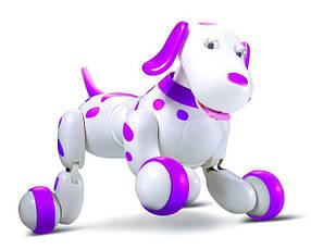 Собака робот Smart Dog  777-338 с пультом управления Розовая