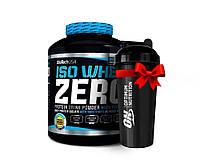 Протеин BioTech Iso Whey Zero 2.27 кг ваниль