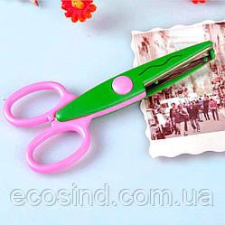 Ножницы  детские с фигурными лезвиями Цена за 1шт (сп7нг-1791)