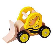 Дерев'яна машинка Viga Toys Бульдозер (59672VG)