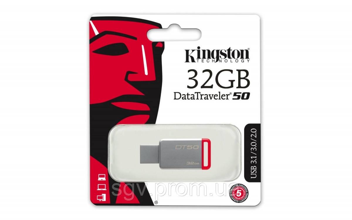 Флешка Kingston DataTraveler 50 [DT50/32GB]