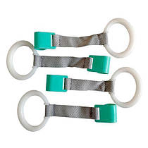 Аксессуар для манежей комплект из 4-х колец Wonderkids (белый/голубой) WK11-R04-001
