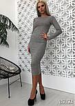 Женская платье рубчик (в расцветках), фото 3