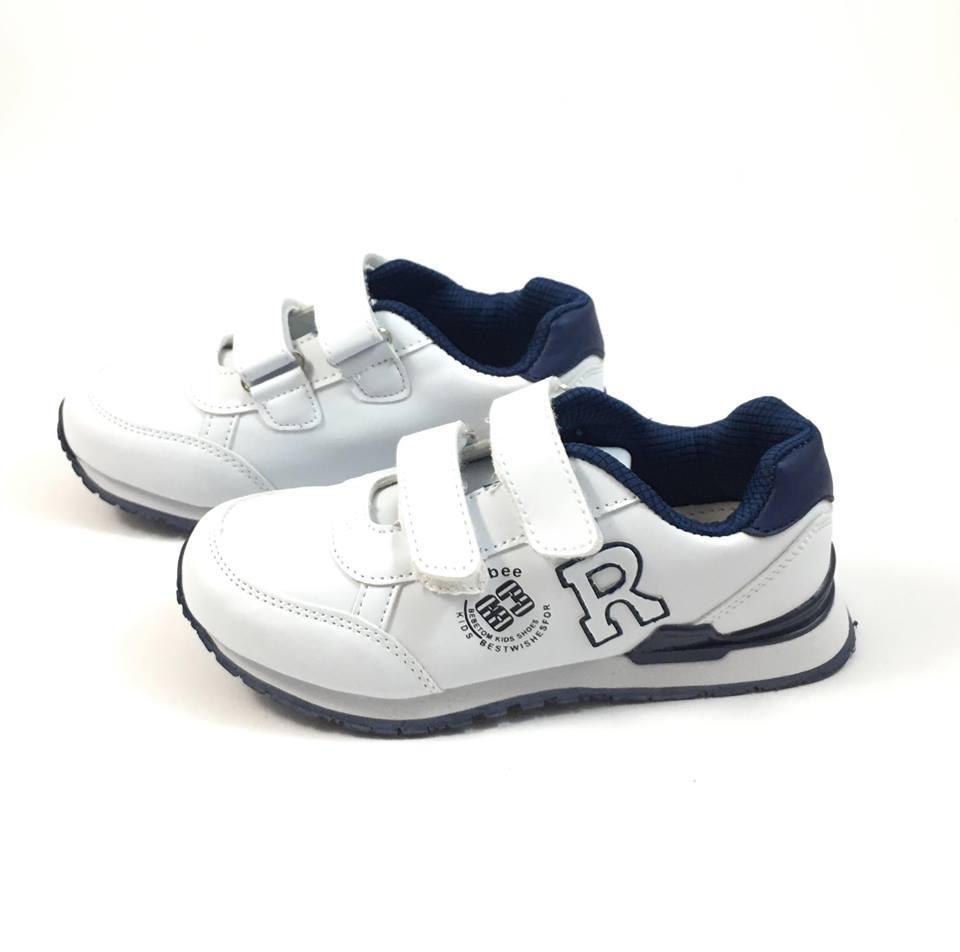 Белые кроссовки Clibee Стоун 803 (р.36,37)