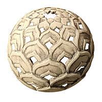 Скульптура керамическая - Светильник восточный, Лотос Д=50см (шамотная глина)