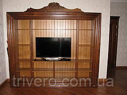 Стенка в гостиную тумба ТВ  тумба под телевизор из натурального дерева