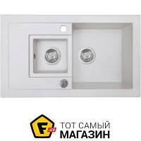 Кухонная мойка Perfelli Pierra PGP 536-78 white
