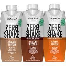 Белковый коктейль Biotech Zero Shake 330ml Chocolate