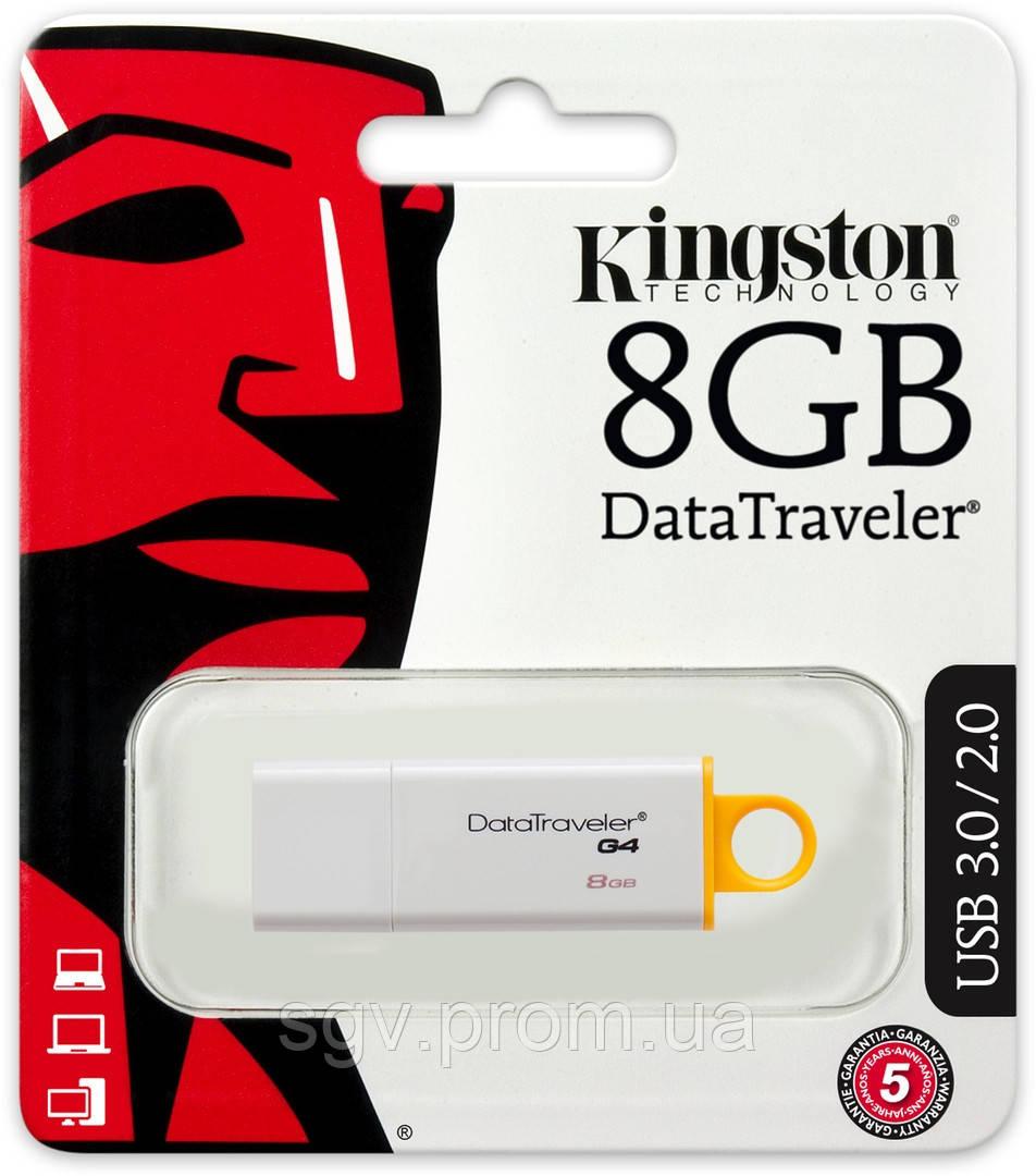 Флешка Kingston DataTraveler G4 [DTIG4/8GB]
