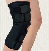 Шарнирный ортез для коленного сустава мягкий М (обхват колена 37-38см)   N101J