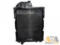Радіатор 70У-1301010 (4-х ряд) алюмінієвий з металевими бачками (TM JFD)