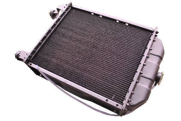 Радиатор 1221-1301010 5-ти рядный (латунный с латунными бачками) (JFD), фото 2