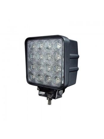 48W / 30 (16x3W / узкий луч, квадратный корпус) 3520 lm LED Фара рабочая LWW0003 (JFD-1051) (Poland)