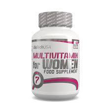 Витамины и минералы для женщин Biotech Multivitamin For Women 60tabs