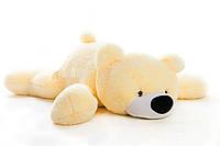 Большая мягкая игрушка медведь Умка 180 см персиковый