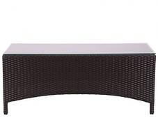 Комплект меблів Bavaro з ротанга Elit (SC-A7428) Brown MB1034 тканина A13815 (AMF-ТМ), фото 3