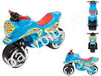 Каталка Спортивный мотоцикл. Kideway KW-11-006. Цвет голубой