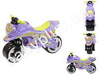 Каталка Спортивный мотоцикл. Kideway KW-11-006. Цвет фиолетовый