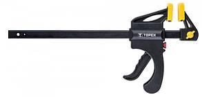 Струбцина автомат. TOPEX 200 х 60 мм 12A520