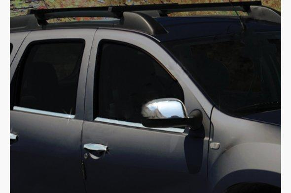 Накладки на зеркала вариант 1 (2 шт) Dacia Duster 2008-2018 гг.