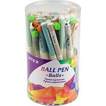 Ручка шариковая автоматическая Kite Balls K19-028, фото 2