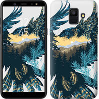 Чехол Endorphone на Samsung Galaxy A6 2018 Арт-орел на фоне природы 3983c-1480-18675 (3983-1480)
