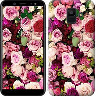 Чехол Endorphone на Samsung Galaxy A6 2018 Розы и пионы 2875c-1480-18675 (2875-1480)