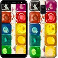 Чехол Endorphone на Samsung Galaxy A6 2018 Палитра красок 2837c-1480-18675 (2837-1480)