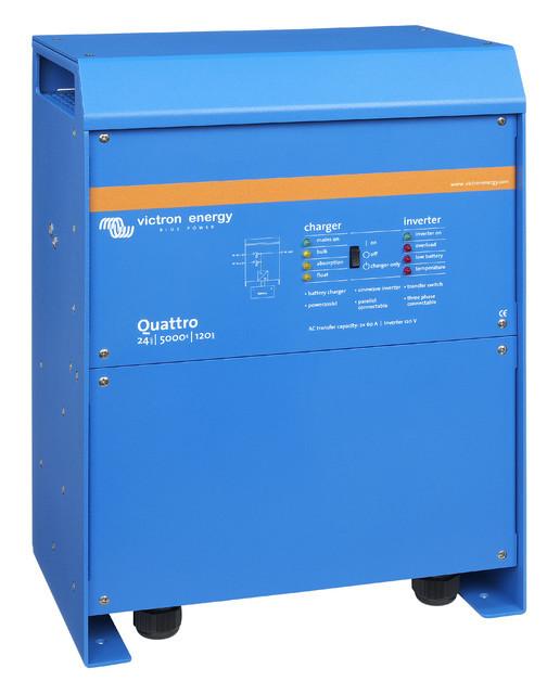 Гибридный инвертор Quattro 24/5000/120-100/100