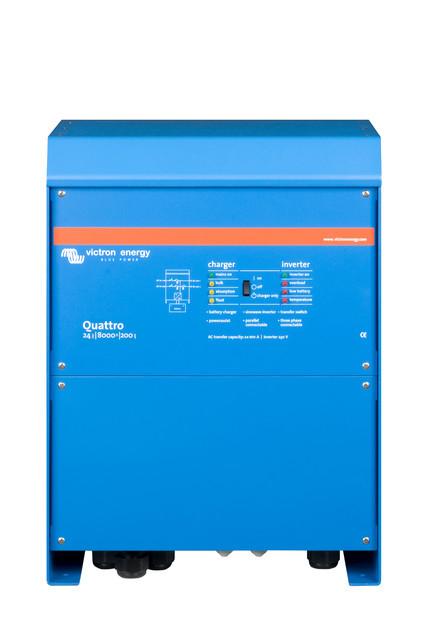 Гибридный инвертор Quattro 24/8000/200-100/100