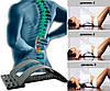 Массажер Мостик для спины, массажер для поясницы Back Magic Support, помогает при болях в пояснице
