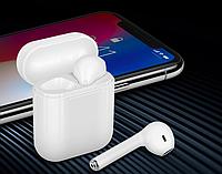 Беспроводные наушники Apple AirPods i8 mini tws Bluetooth с боксом для зарядки (качественная копия Apple), Bluetooth наушники, Безпровідні навушники