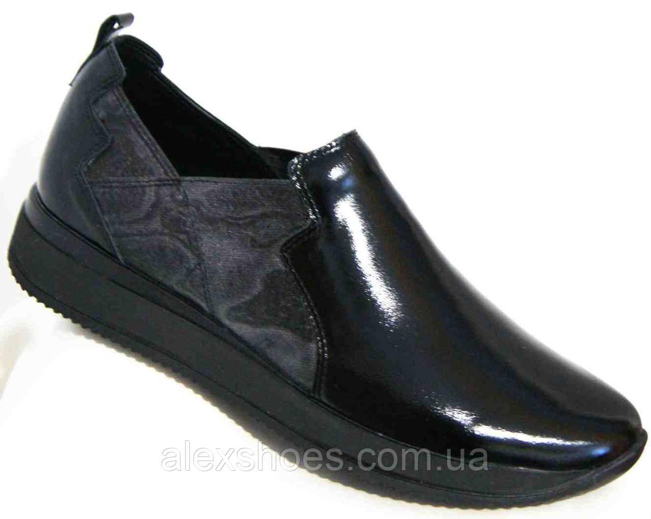 Туфли женские большого размера из натуральной кожи от производителя модель В5236-6