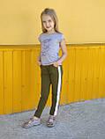 Трикотажные лосины на девочку Musti (7-14 лет), фото 2