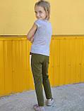 Трикотажные лосины на девочку Musti (7-14 лет), фото 3