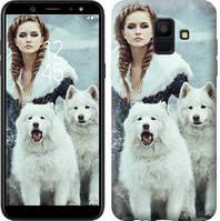 Чехол Endorphone на Samsung Galaxy A6 2018 Winter princess 4048c-1480-18675 (4048-1480)