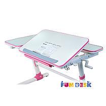 Детский стол-трансформер FunDesk Invito Pink, фото 2