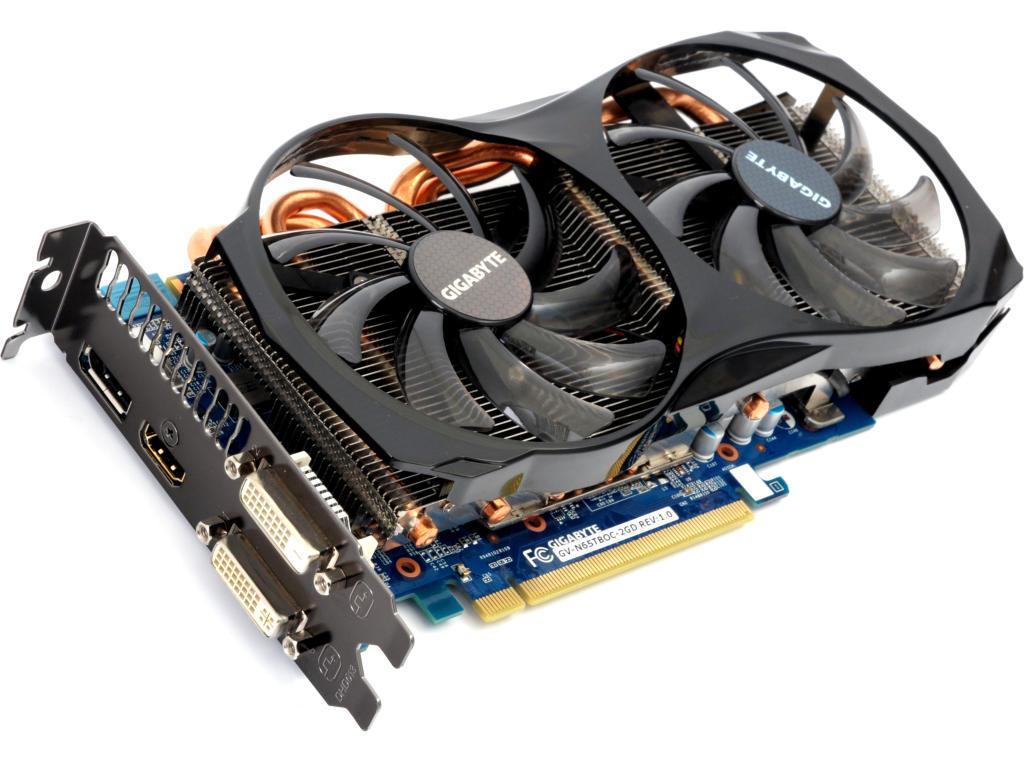 "Видеокарта GIGABYTE GeForce GTX650 Ti Boost GV-N65TBOC-2GD ""Over-Stock"" Б/У"