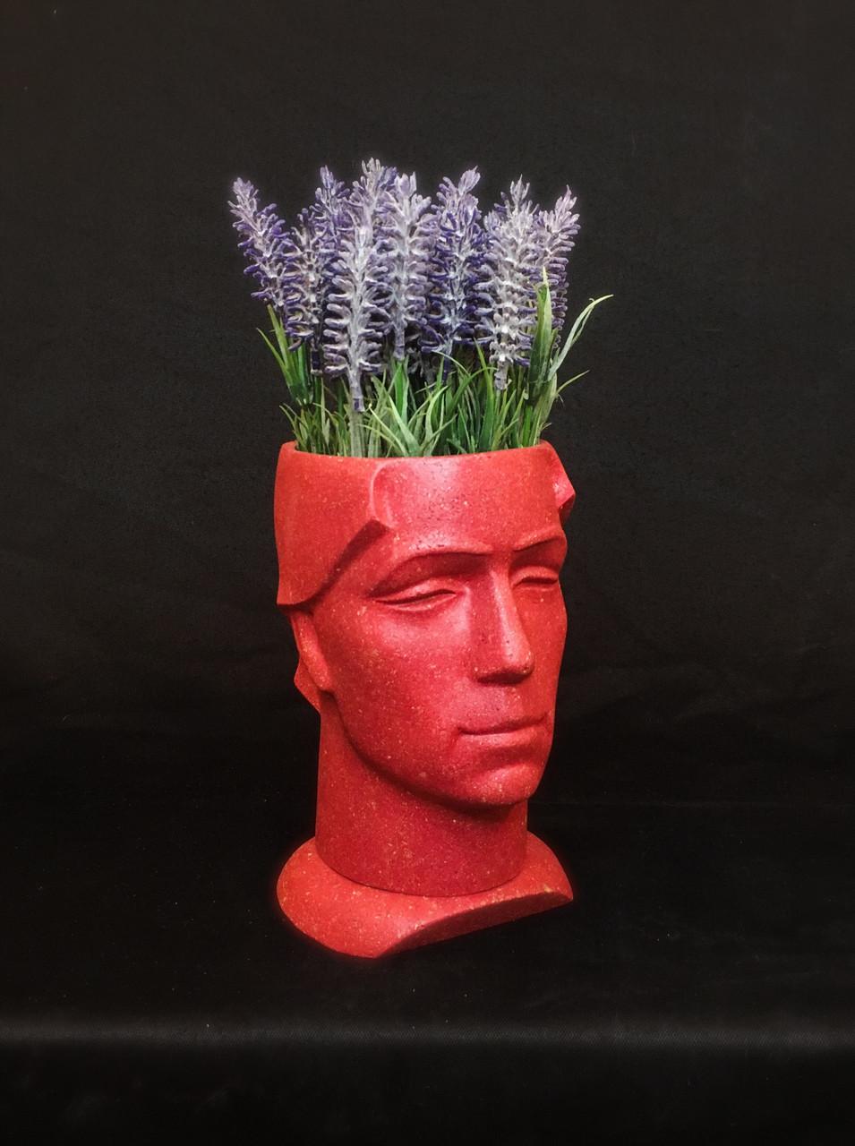 Горшок для вазона, скульптурний вазон, кашпо з бетону
