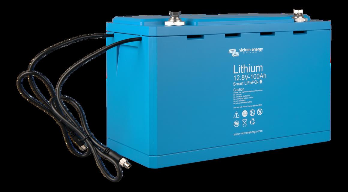 Акумулятор LiFePO4 battery 12,8 V/100Ah - Smart