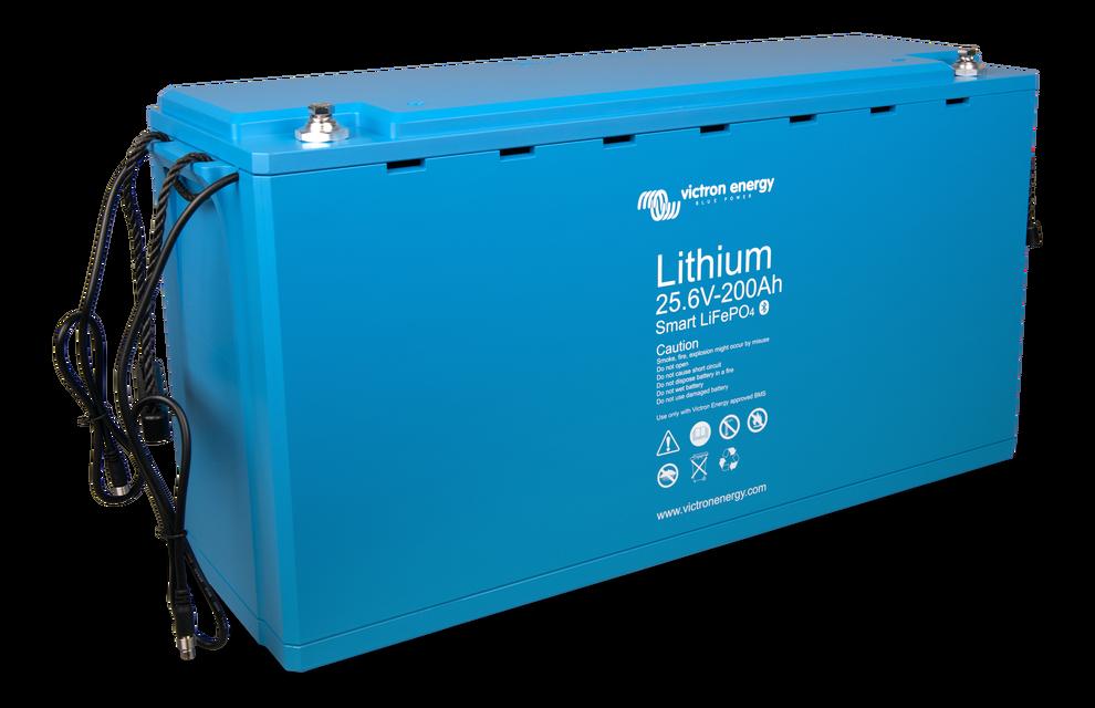 Аккумулятор LiFePO4 Battery 25,6V/200Ah - Smart