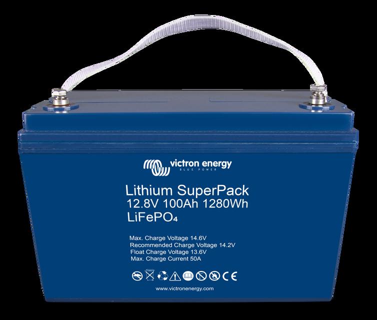 Аккумулятор Lithium SuperPack 12,8V/100Ah (M8)