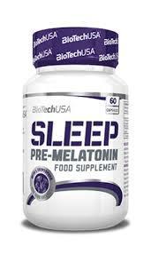 Витамины, бустер мелатонина Biotech Sleep 60caps
