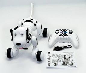 Собака робот Smart Dog 777-338 с пультом управления Черный